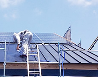 太陽光パネル屋根工事