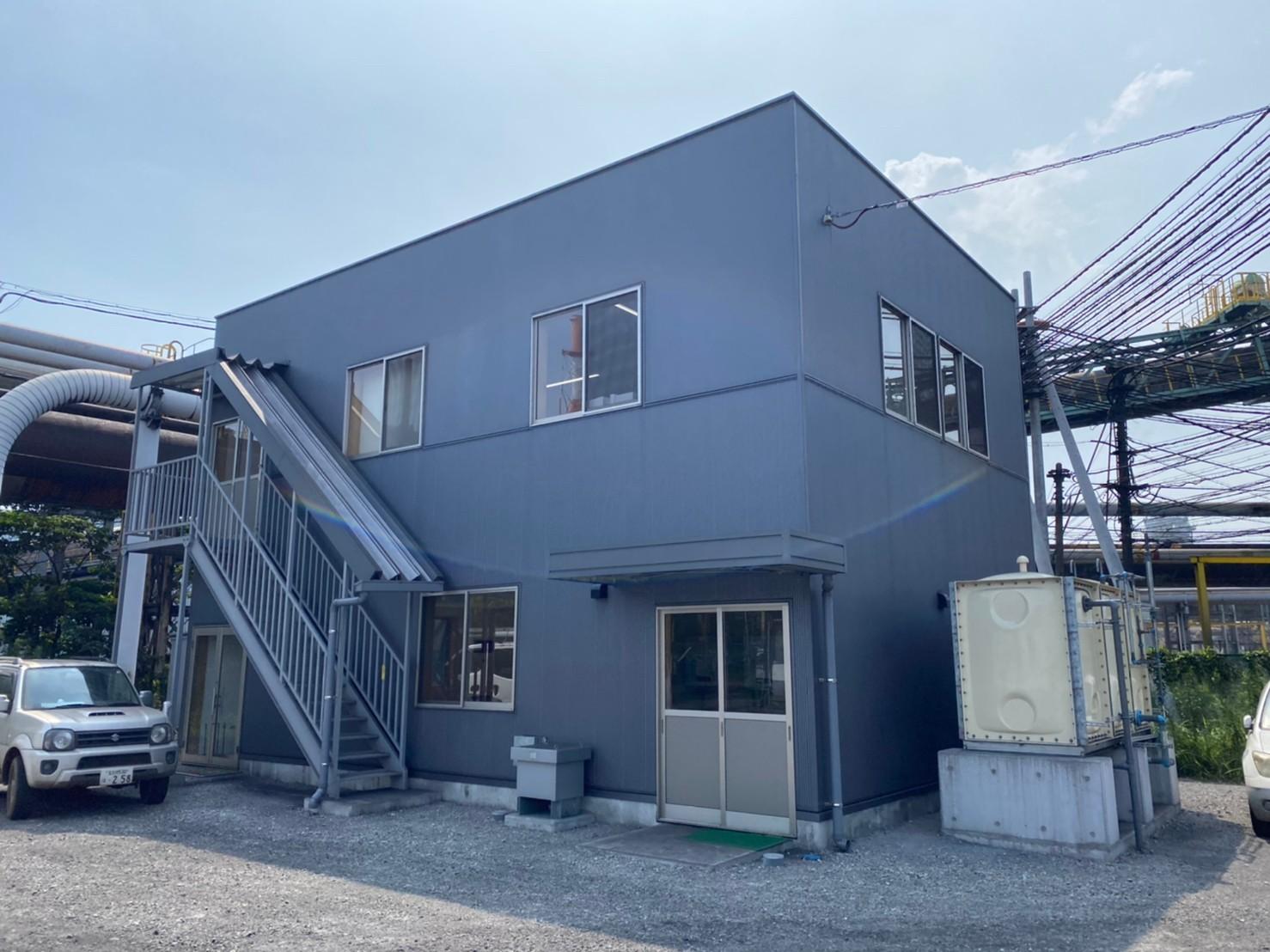 新日鉄構内 事務所新築を行いました。